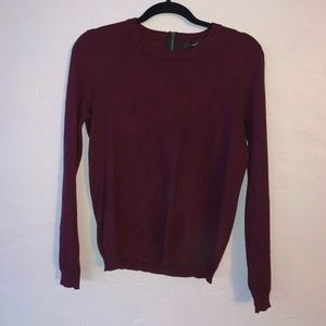 Maroon Forever 21 Sweater